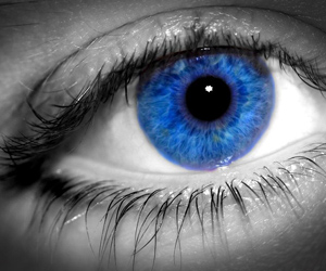 Blauwe ogen