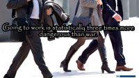 Werken, stop er mee, te gevaarlijk!