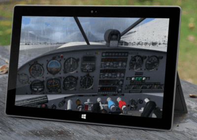 flight-simulator-tablet
